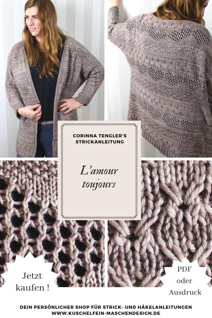 Strickanleitung L'amour toujours von Corinna Tengler