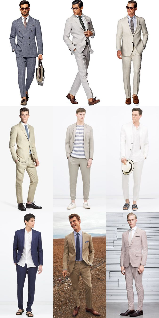 How To Style Your Suit Through Summer | FashionBeans: