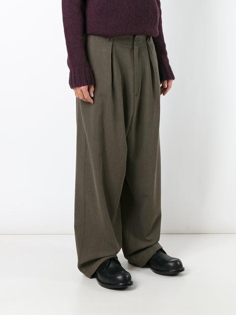 Société Anonyme брюки 'Pleats'