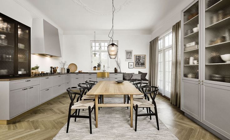 New Nordic Shaker Kitchen