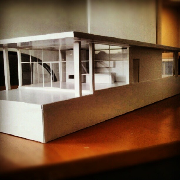 A little model of the Villa we've been working on @Interiors_by_Mi #Model #Villa #InteriorDesign #Work http://instagram.com/p/SgoWgbQXLx/