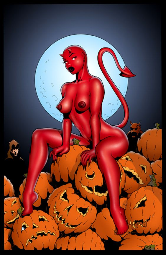 halloween girl porn