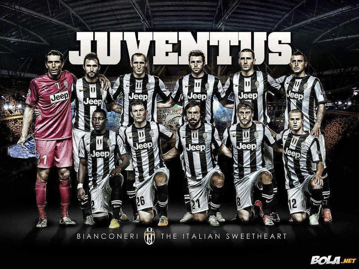 Juventus team 12/13