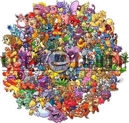 Pokemon cross stitch pattern ... $7.50