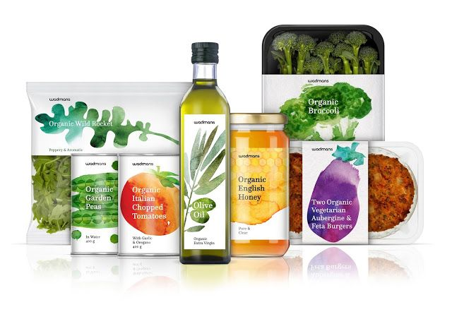 Wadmans Organic Food (Concept) on Packaging of the World - Creative Package Design Gallery