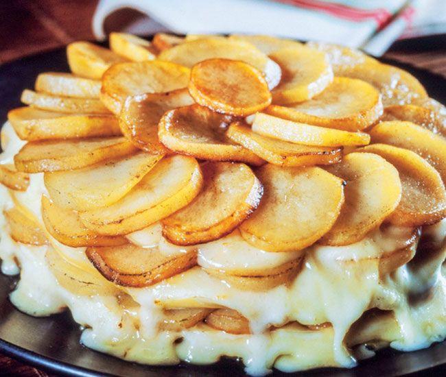 Patatas y queso, ¡exquisito maridaje! #recetas