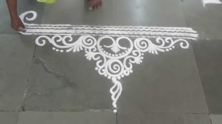 simple rangoli designs - Google Search