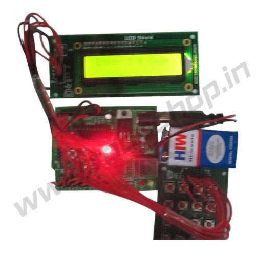 Passcode Security System w/ LCD Display