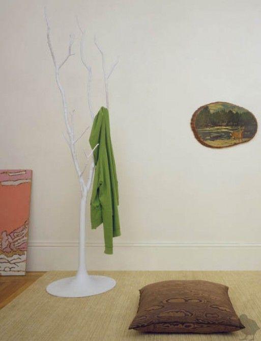 Coatracks hooks better living through design ghost tree for Ghost antler coat rack