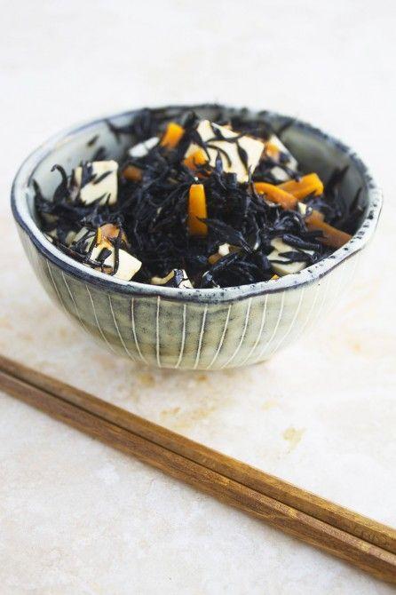 Hijiki tangsalat // Hijiki seaweed salad