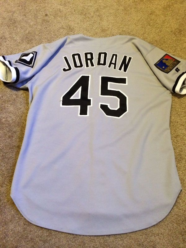 hot sale online ad3be e1aa2 Michael Jordan Game Worn/Used 1994 Chicago White Sox ...