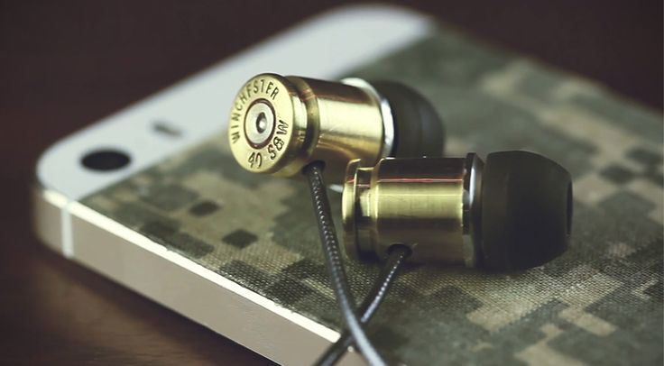DIY Bullet Casing Headphones - make your own!