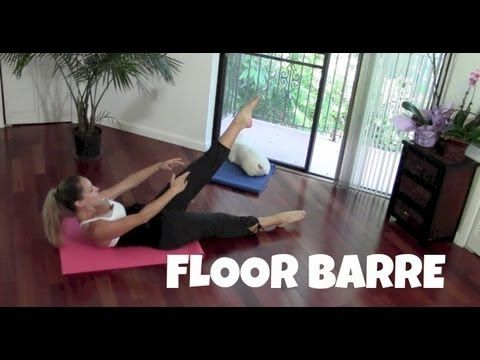 Floor Barre (barre workout, toning, butt, abs exercises, inner thighs)