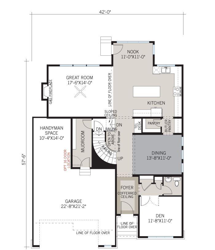 Monarch homes floor plans kanata thefloors co for Monarch homes floor plans