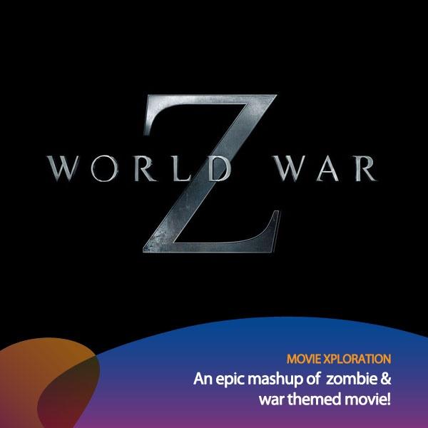 Guys, mau ada film keren nih yg akan keluar pertengahan th depan, judulnya World War Z!     Cek deh trailernya di: http://www.youtube.com/watch?v=HcwTxRuq-uk    *as posted on XL Rame