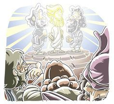 Lesson: Jesus on a Mountain (Luke 9:28-36) Transfiguration, Transformation, Preparation