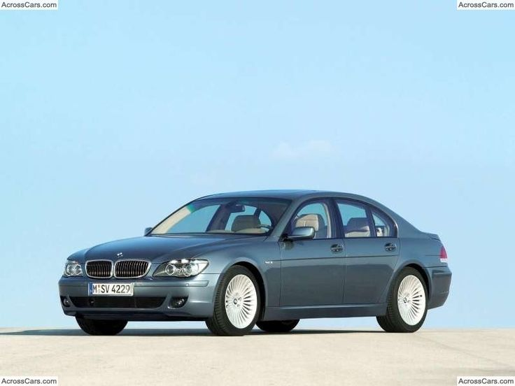 BMW 750Li with Shadow Line (2006)