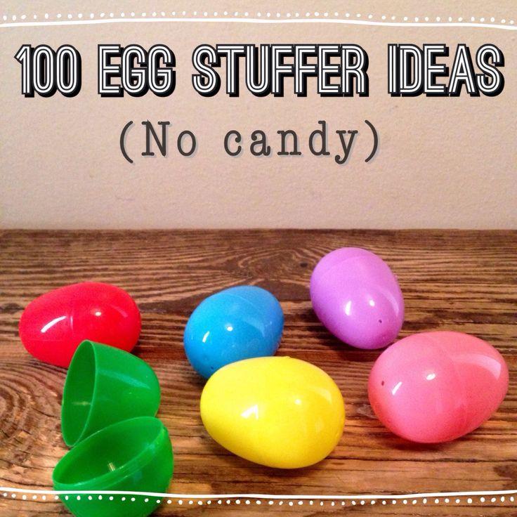 100 plastic egg filler ideas.... No candy!