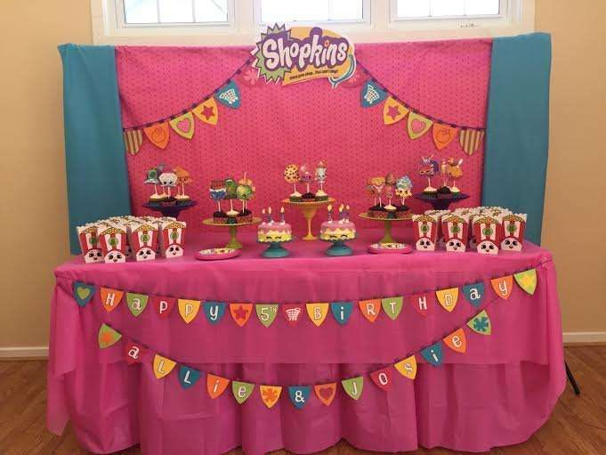 colorful shopkins birthday party see more party ideas at catchmypartycom