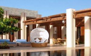 Large villa in Mustique, lounge Taliesin