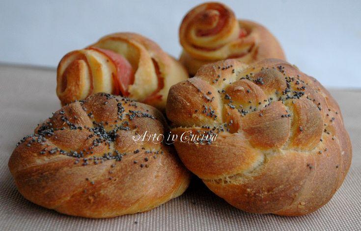 Pane intrecciato con pasta madre