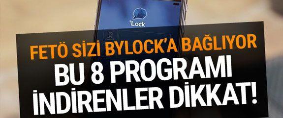 11 bin 480 kişiye FETÖ Mor beyin yazılımları ile Bylock yükledi. Amaç asıl FETÖ'cüleri gizlemekti. Peki hangi programlarla ByLock yüklendi.