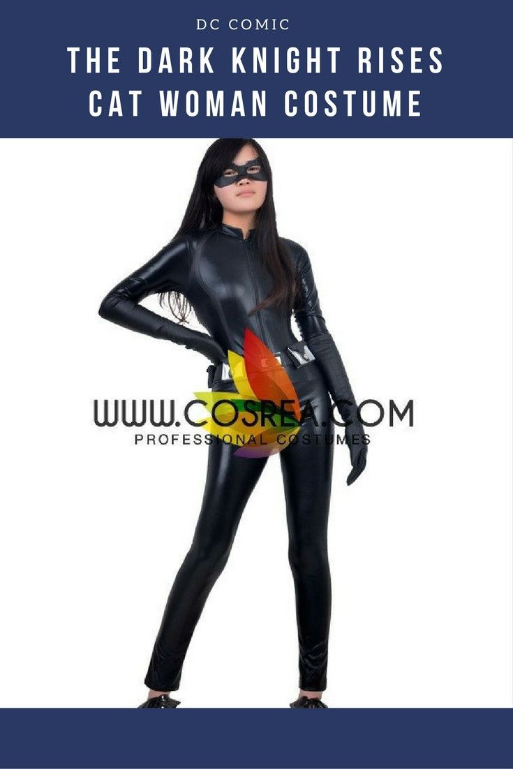 The Dark Knight Rises Cat Woman Cosplay Costume