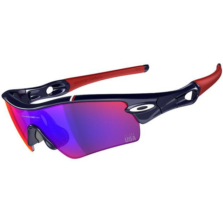 oakley glass usa  the oakley mens team usa radar path sunglasses