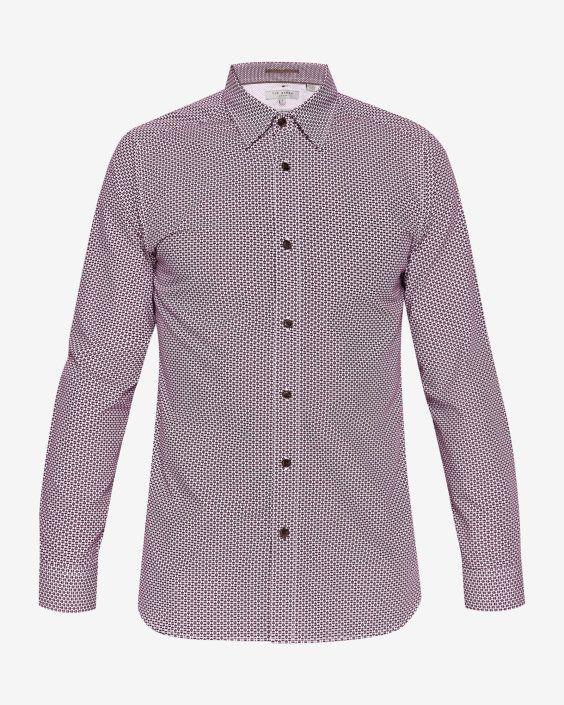 16b8ff38 Kolma Core print shirt - Purple | Shirts | Ted Baker UK | Polo ...