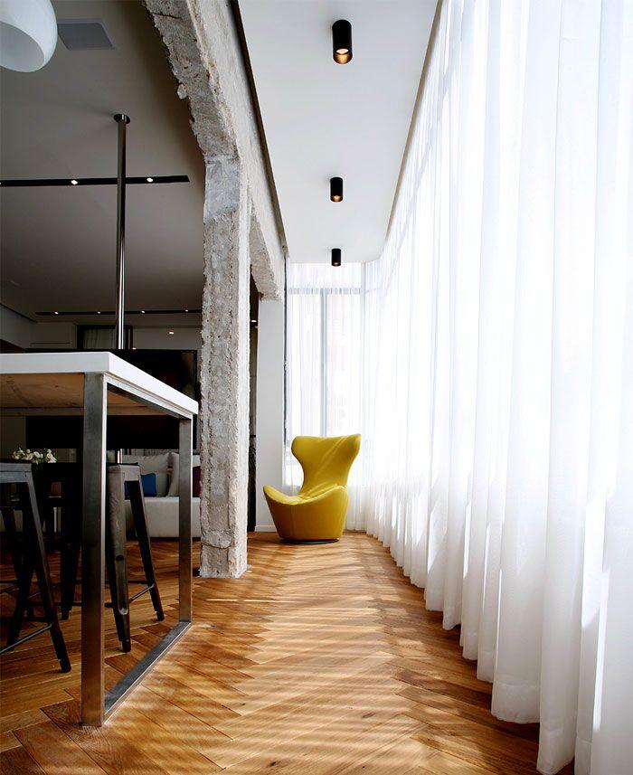 Großzügig Hi Tech Loft Wohnung Loft Dethier Architecture Bilder ...