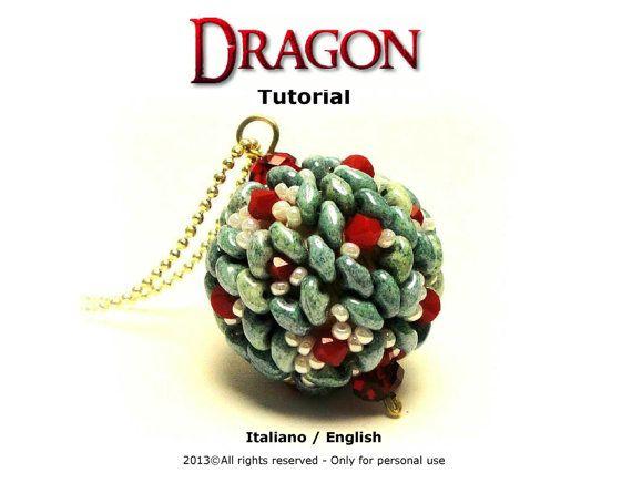 Tutorial Dragon beaded bead