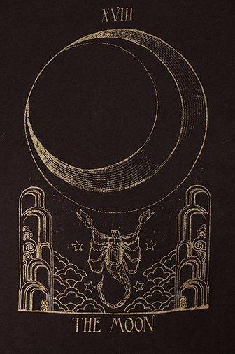 Moon tarot: