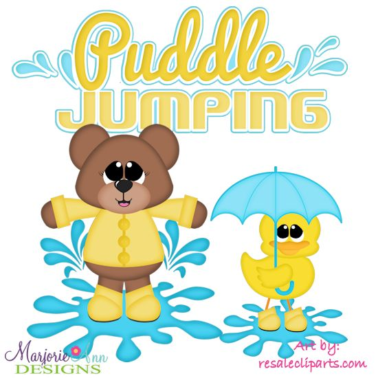 Puddle Jumping SVG-MTC-PNG plus JPG Cut Out Sheet(s) Our sets also include clipart in these formats: PNG & JPG