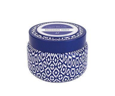 Modern Mint - Capri Blue Travel Tin Candle