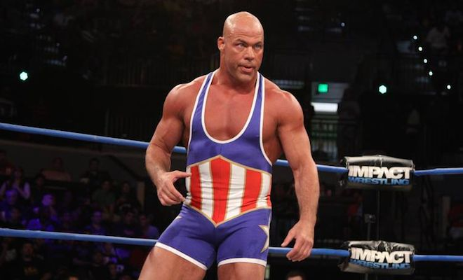 Update on Kurt Angle's Recovery Time From Neck Tumor Surgery