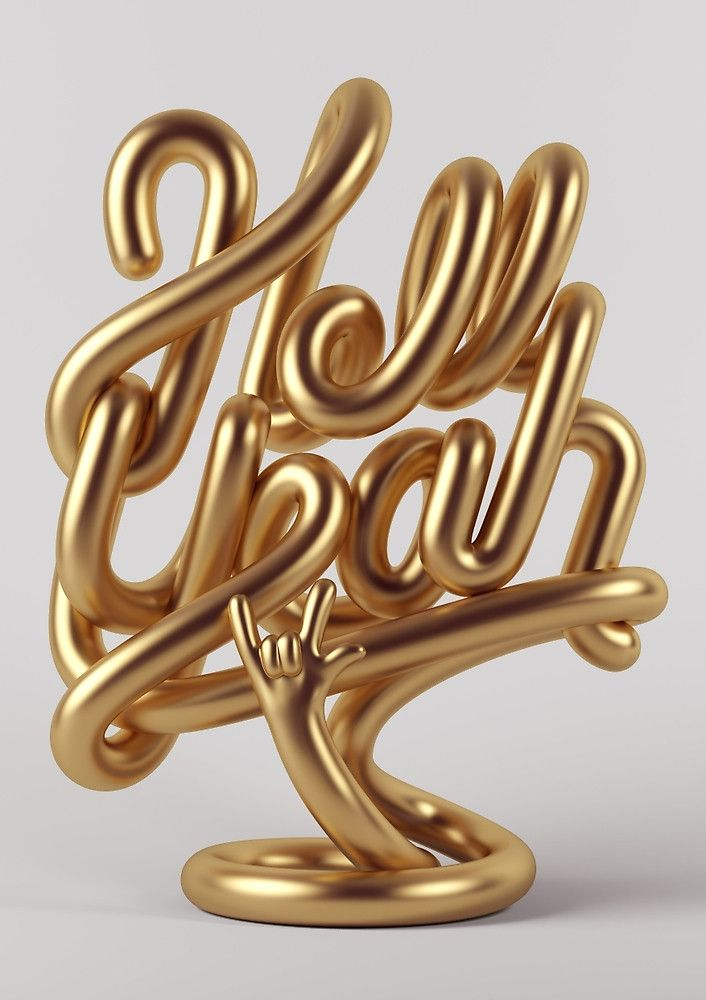 """Hell Yeah GOLD"" by Marc Urtasun | Redbubble"