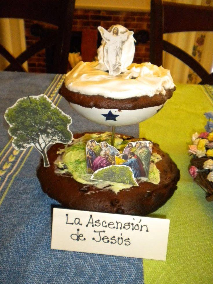 Familia Católica: Pastel para el día de la Ascensión - 2013