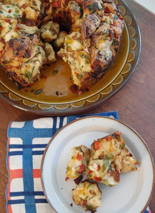 Undercover Caterer :: Savory Monkey Bread with Bacon, Cheese and ...