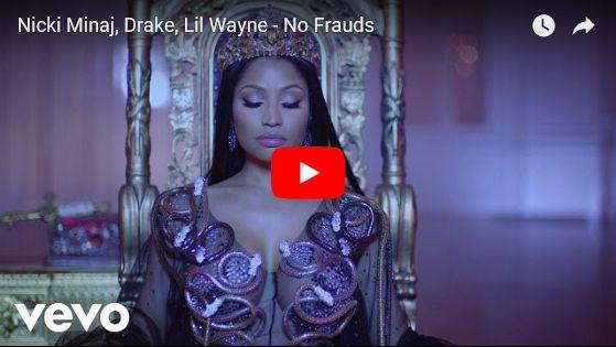 Watch: Nicki Minaj, Drake, Lil Wayne - No Frauds See lyrics here: http://nickiminaj-lyrics.blogspot.com/2018/02/no-frauds-lyrics-nicki-minaj-with-drake_17.html #lyricsdome
