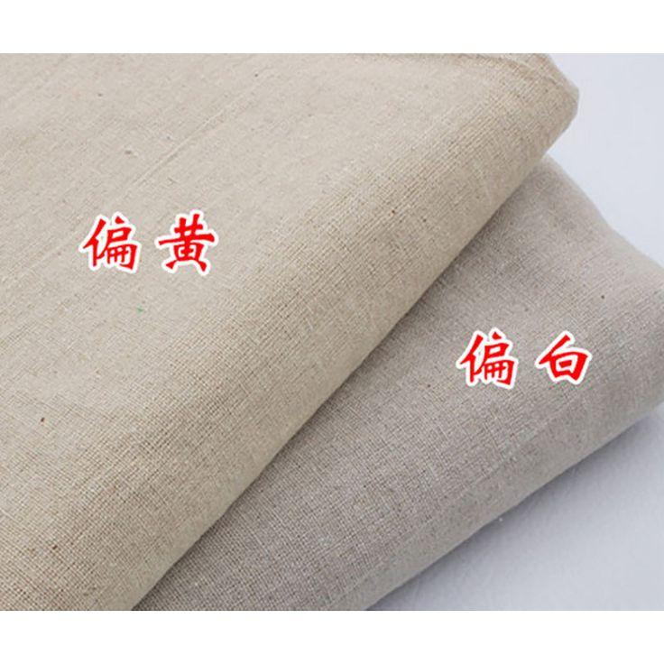 Linen DIY Fabric Solid Width:158cm Silk Fabric For Sewing Skirt Curtain Table Cloth Mat Ragdoll Telas Por Metros Patchwork Tissu #Affiliate