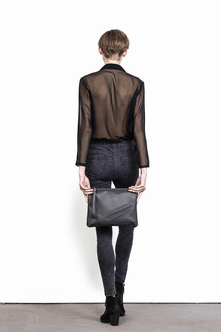 #bagsbylenka LINA GRAPHITE / www.bagsbylenka.com