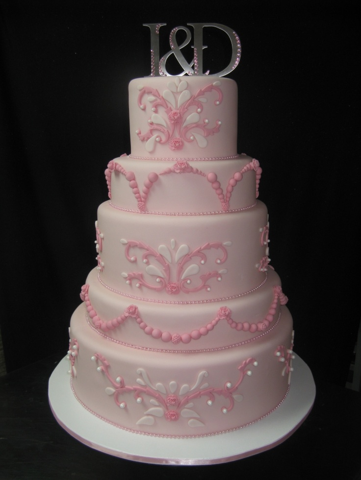 pink wedding cakes southern blue celebrations 25 beautiful pink wedding 18594