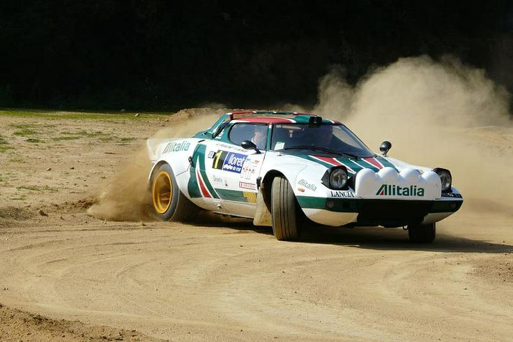 Lancia Stratos Rally Historic And Legend Cars Pinterest