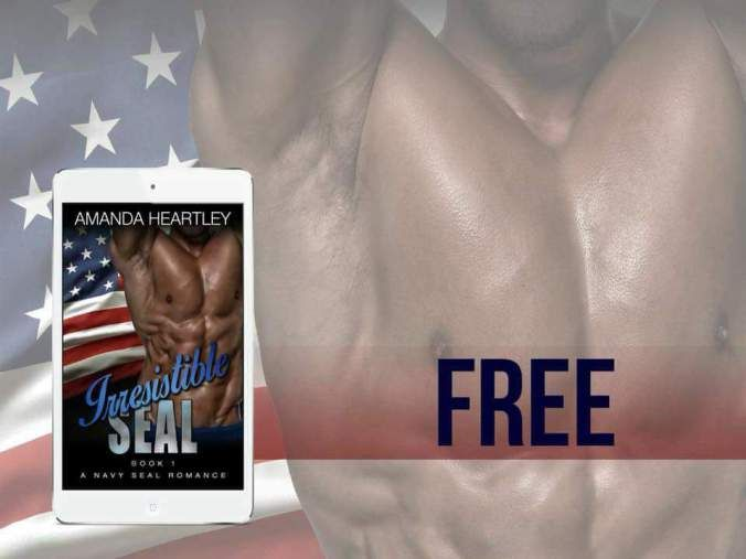 Get yours! Irresistible Seal Book 1 & Book 2 are #FREE  Smokin Hot Military Romance! By Amanda Heartley  Book 1  Book 2 http://amzn.to/2wOuDwK