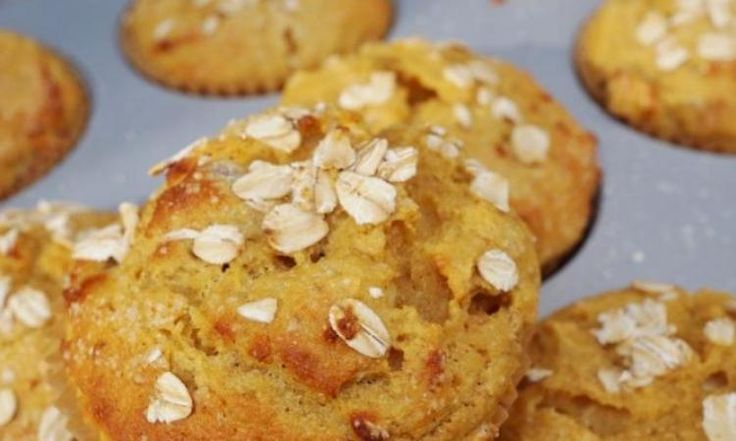 Muffin à l'avoine...fait de compote de pomme ! WOW, vous allez l'adorer - Ma Fourchette