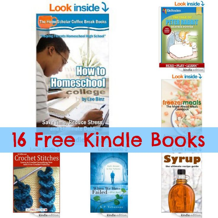 16 Free Kindle Books: How to Homeschool College, The Tale of Peter Rabbit, Freezer Meals, + More!