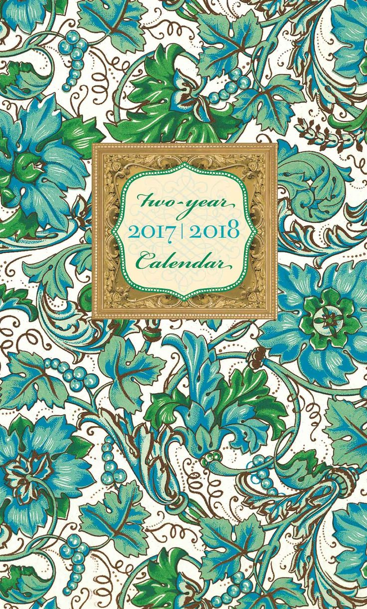 Florentine Monthly Pocket Diary 2017-2018