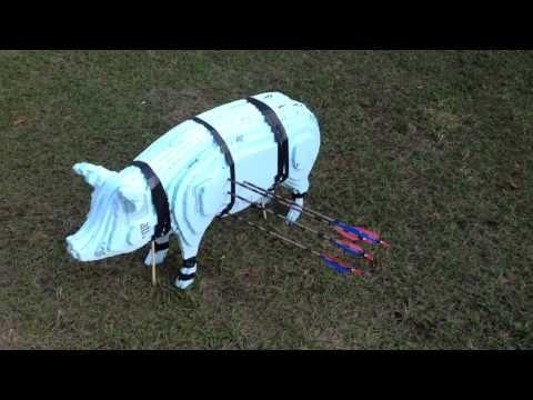 Hackflo Build Log — DIY 3D Hog Archery Target I noticed how expensive...