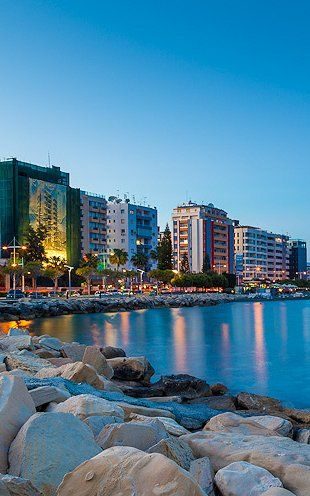 CYPRUS....... Limassol, The waterfront is dotted with hotel and public beaches, where you can soak up the sun, or take a cooling dip in the Mediterranean.