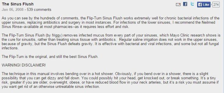 The Sinus Flush - friggy's Journal - MedHelp